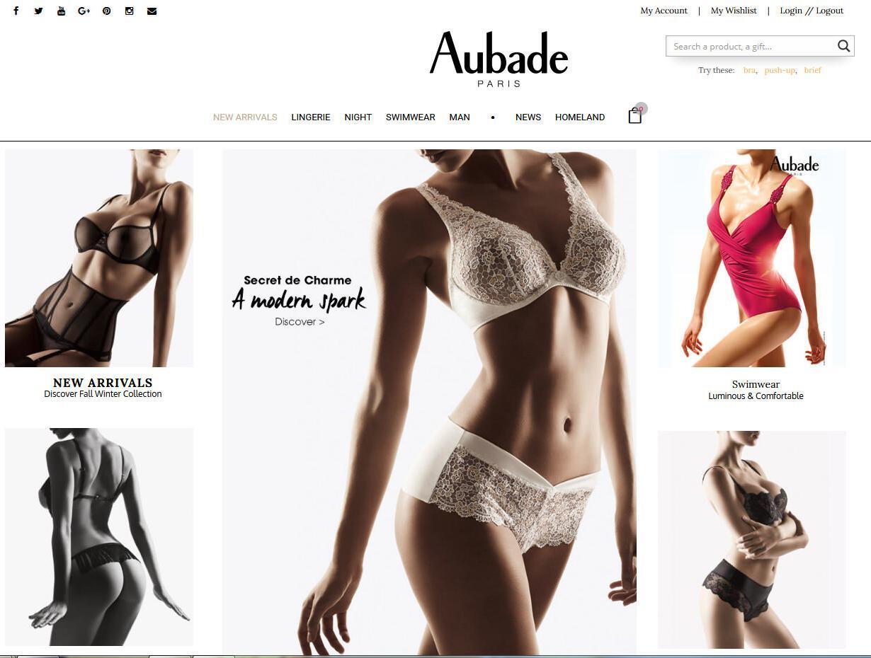 Site e-commerce luxe
